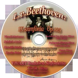 L. v. Beethoven: IX. szimfónia - VIVART DVD kiadványa