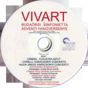 Adventi hangverseny - VIVART DVD