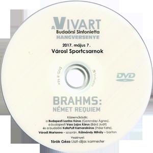 Brahms: Német requiem - VIVART Budaörsi Sinfonietta hangversenye DVD-n