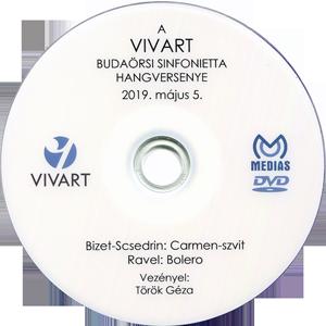 Bizet-Scsedrin: Carmen-szvit Ravel: Bolero - VIVART Budaörsi Sinfonietta DVD lemeze
