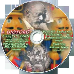 Csajkovszkij szvitje szimfónikus zenekarra és bigbandre Duke Ellington és Billy Strayhorn átiratában A VIVART Budaörsi Sinfonietta és a Budapest Jazz Orchestra közös hangversenye DVD-n