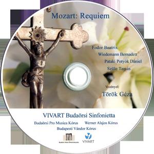 Mozart: Requiem - VIVART Budaörsi Sinfonietta DVD kiadványa