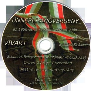 Schubert: Befejezetlen szimfónia (h-moll, D.759)  Orbán György: I. szerenád Beethoven: Egmont-nyitány - VIVART Budaörsi Sinfonietta